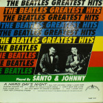 The Beatles Greatest Hits Played By Santo & Johnny front